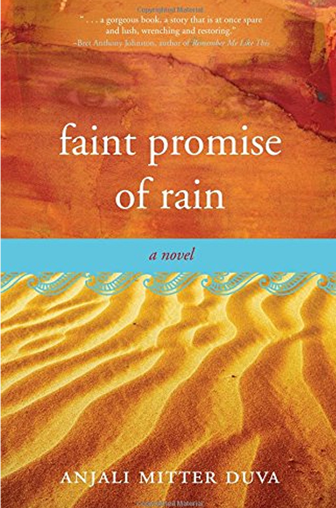 kathleen stone writer booklab literary salon faint promise of rain anjali mitter duva