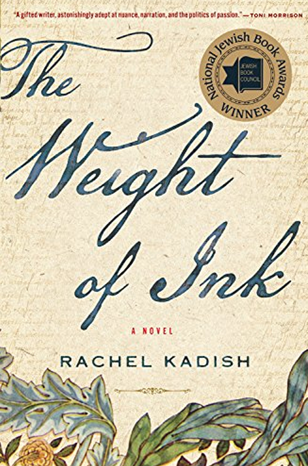 kathleen stone writer booklab literary salon the weight of ink rachel kadish