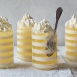 Lemon soda buttermilk parfait