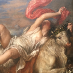 The Rape of Europa painting by Titian